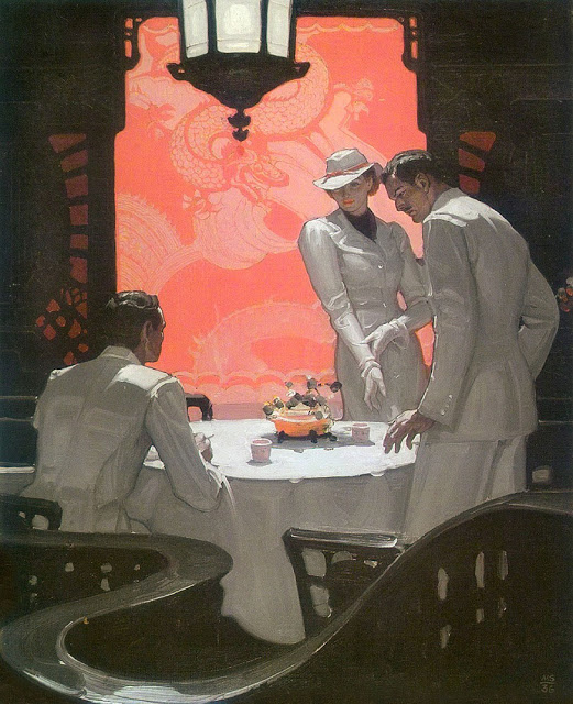 Illustration by Mead Schaeffer